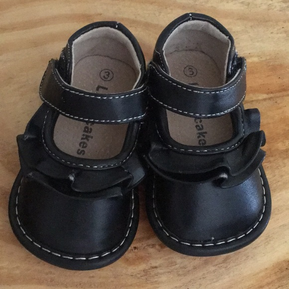 2baaaacfc0 Laniecakes Aligator Other - Black Laniecakes Aligator Squeaker Shoes Sz 3